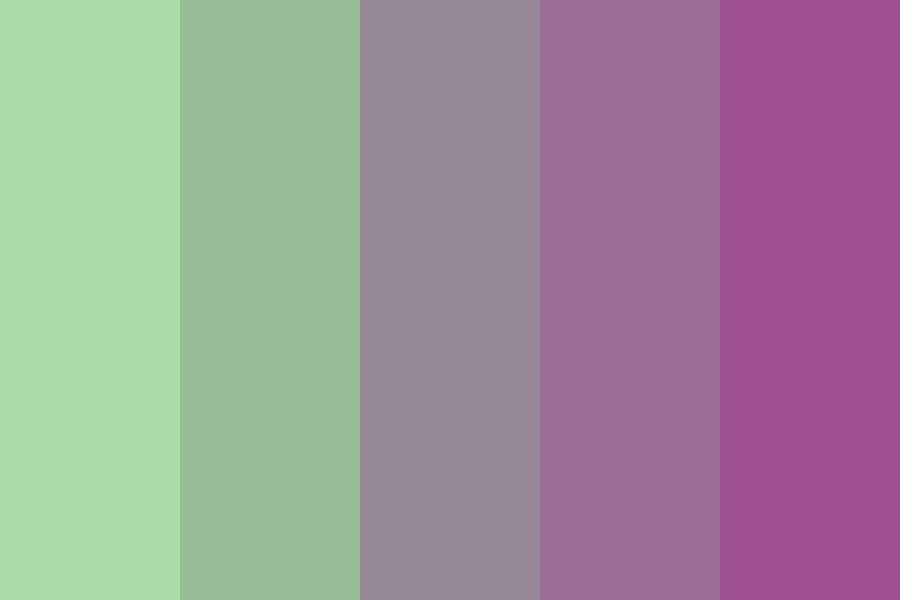 Sunsets In The Trees Color Palette