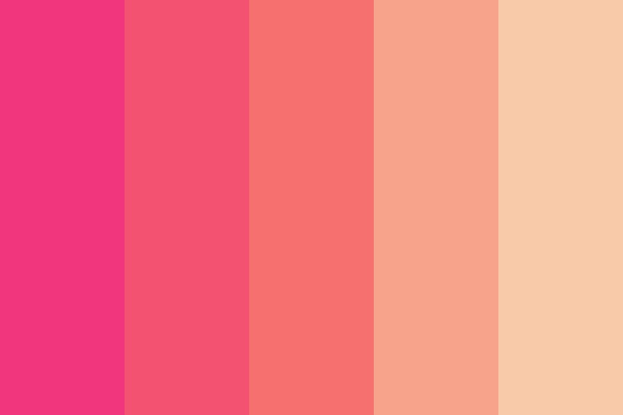 Sunsets With Company Color Palette
