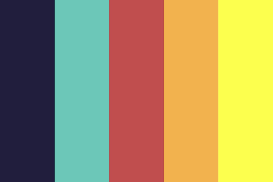 Sunsetty Color Palette