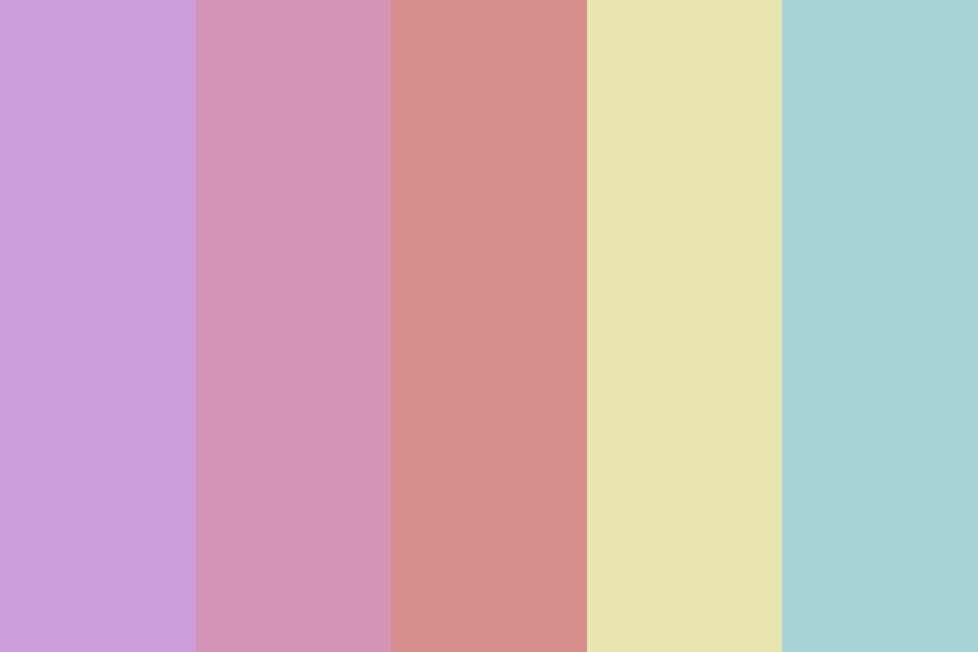 Supergirl   Muted Color Palette