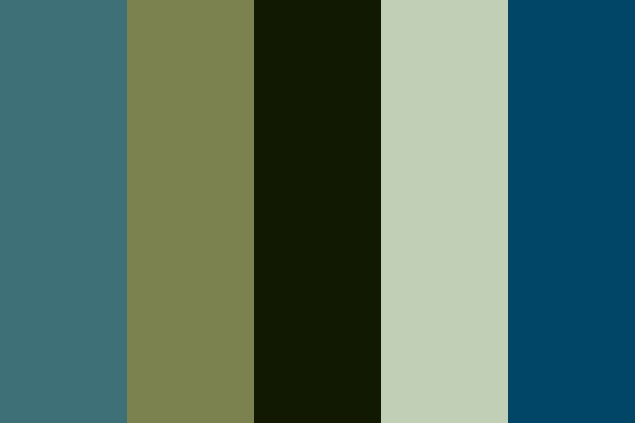 Surfing In Winter Color Palette