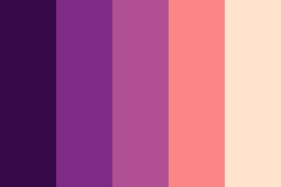 Sweet Sunset Color Palette
