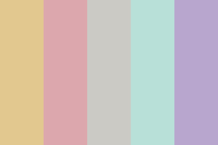 Sweets In Spring Color Palette