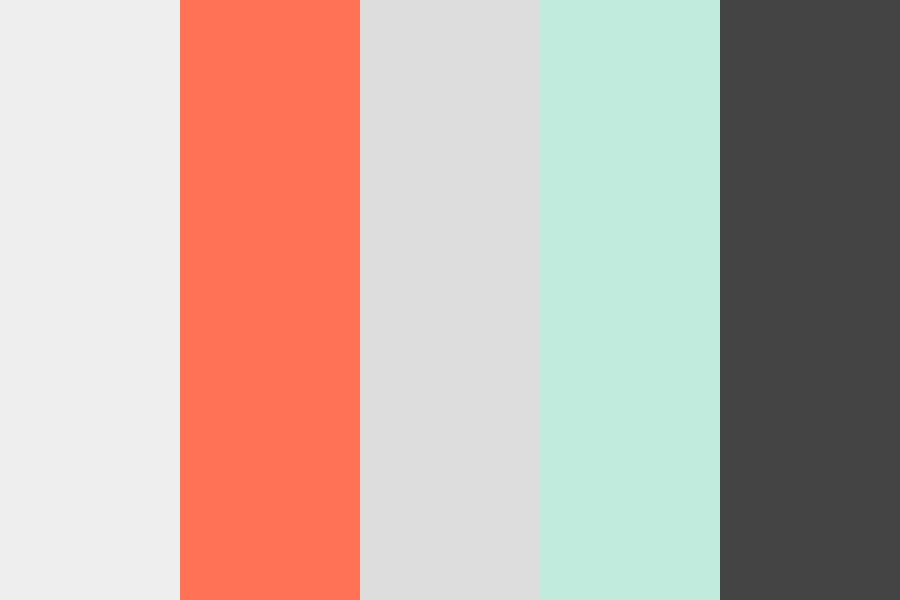 Taneal Coral Color Palette