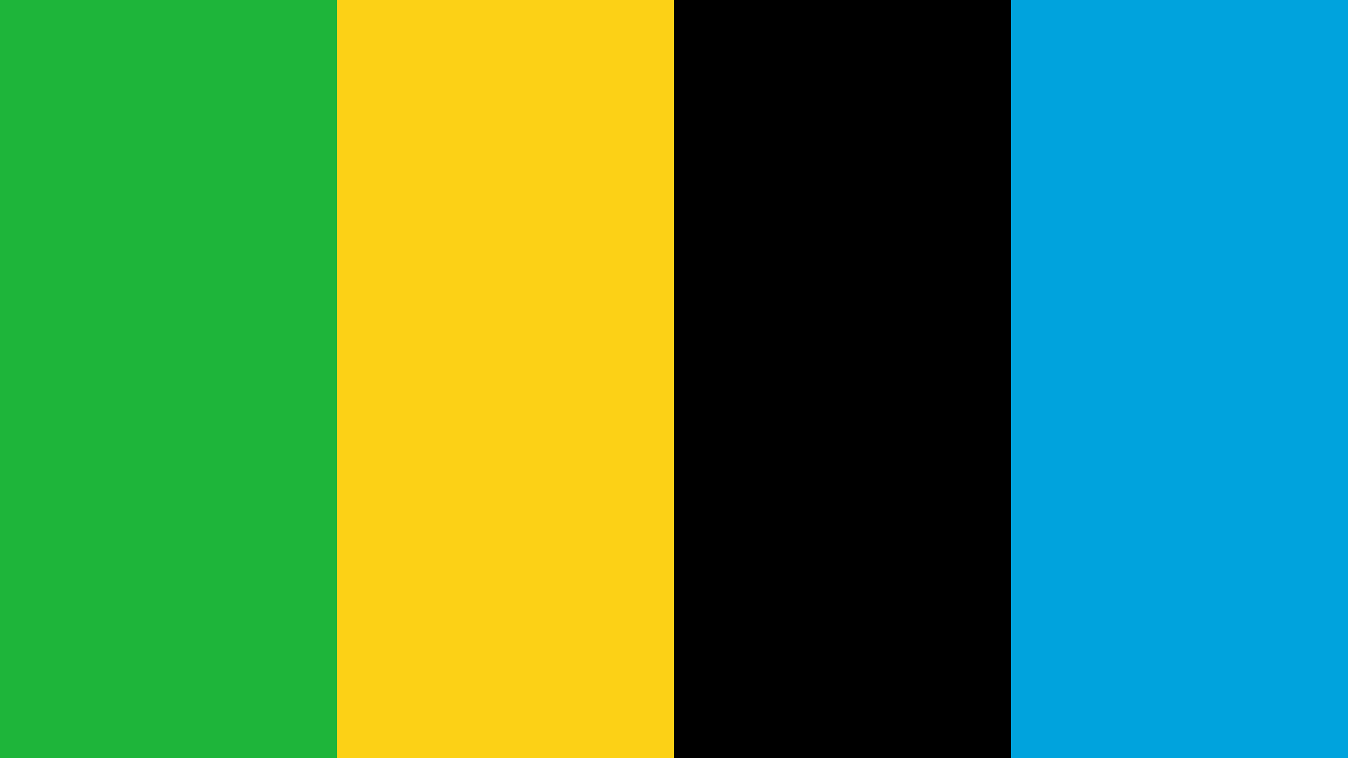 Tanzania Flag Color Palette