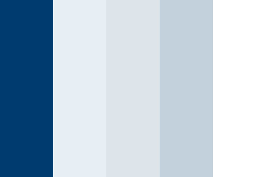 Tardis Blue Color Palette