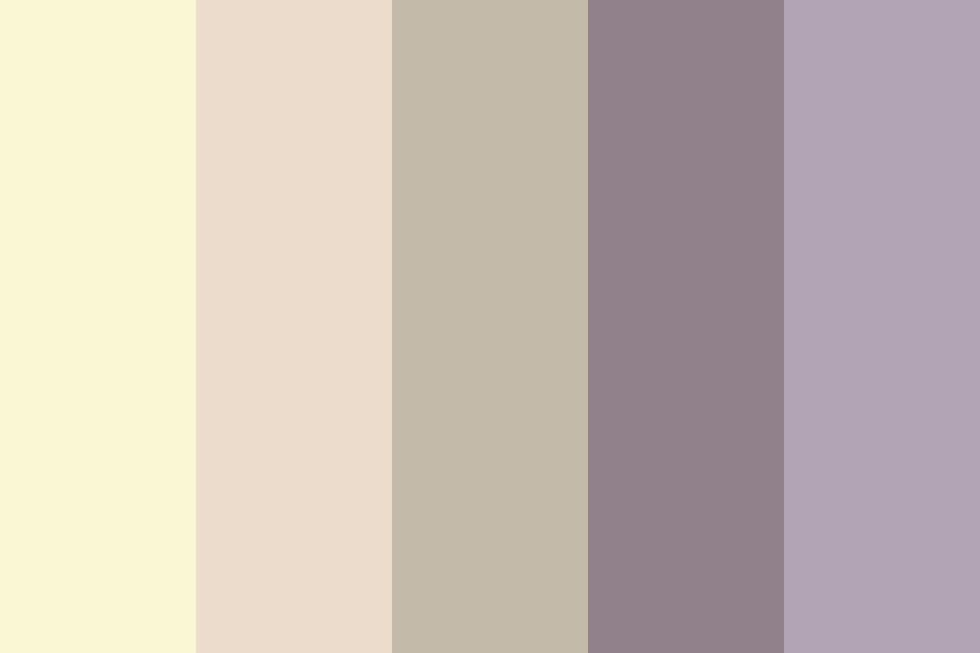 Taupe And Cream Color Palette