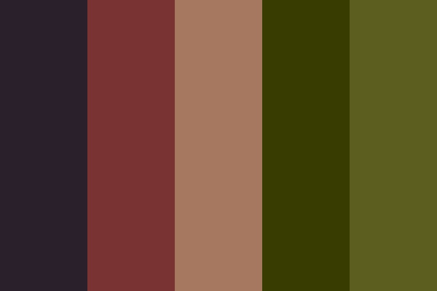 Taurean Sun Color Palette