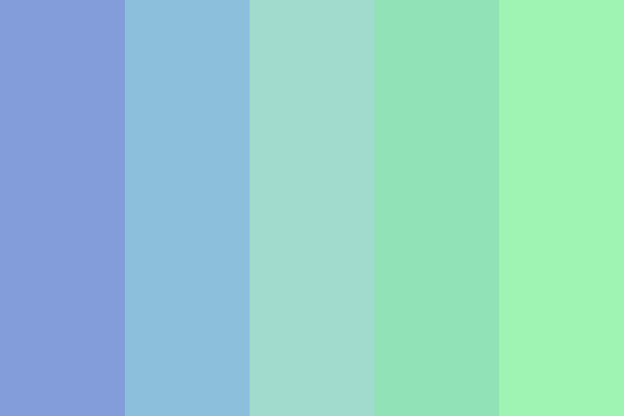 Teal Blue Color Palette