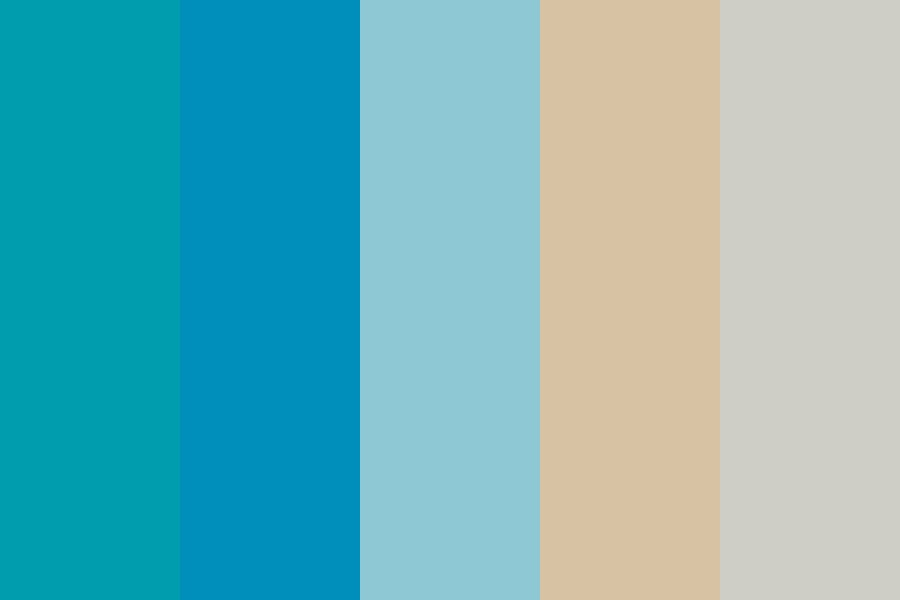 Teal Dreams Color Palette