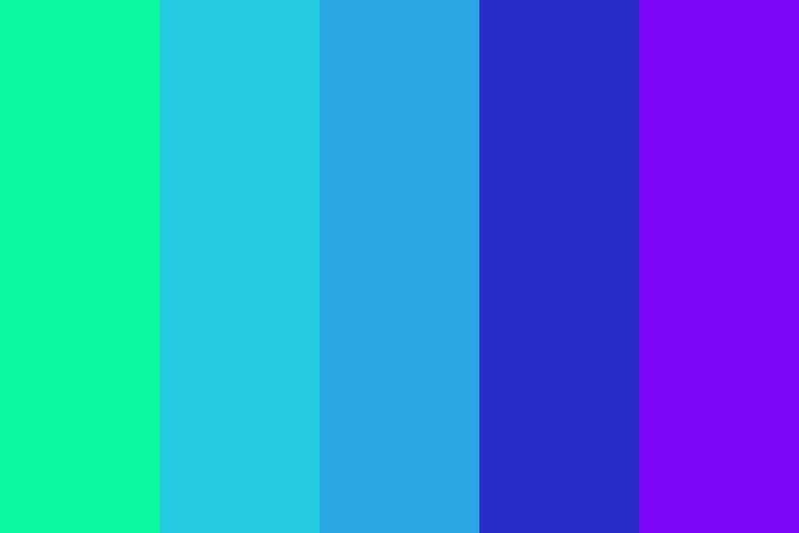 Teal Stuff Color Palette