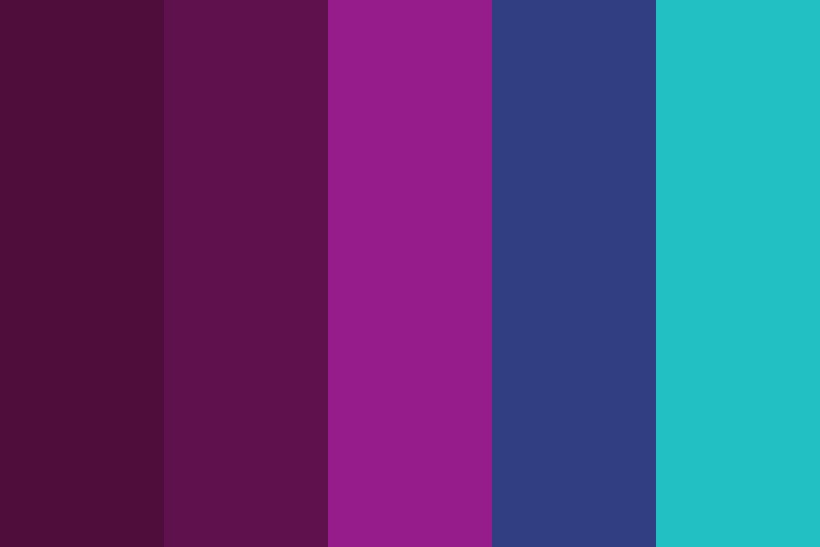 Technology Nights Color Palette