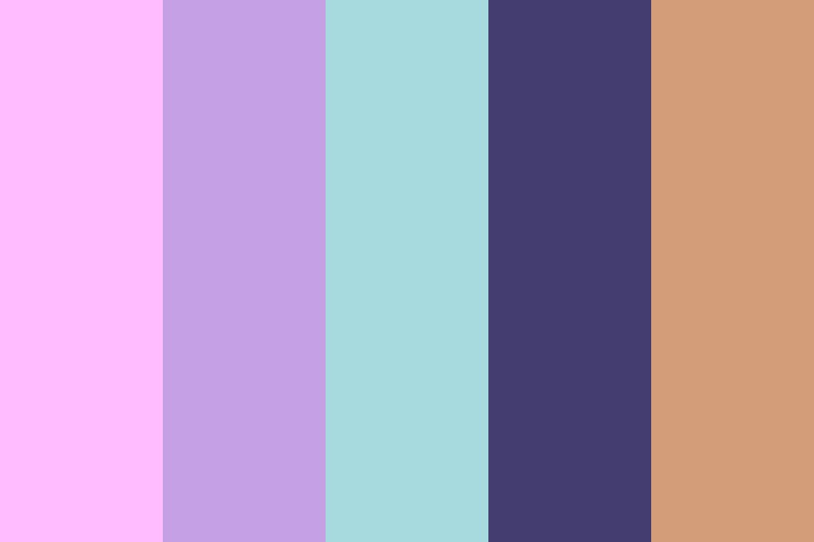Tender Is The Night Color Palette