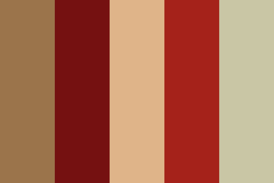 That Brown Paper Note Color Palette