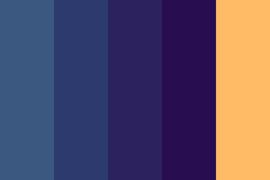 That Lonely Firefly Color Palette