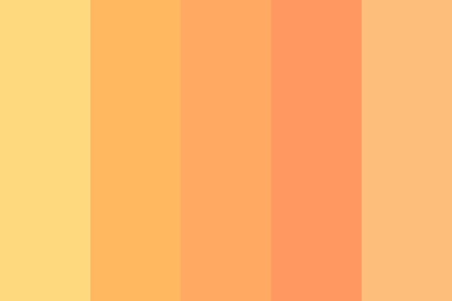 Thats Just Peachy Color Palette