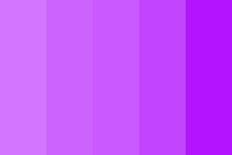 The Ballad Of Purple Color Palette
