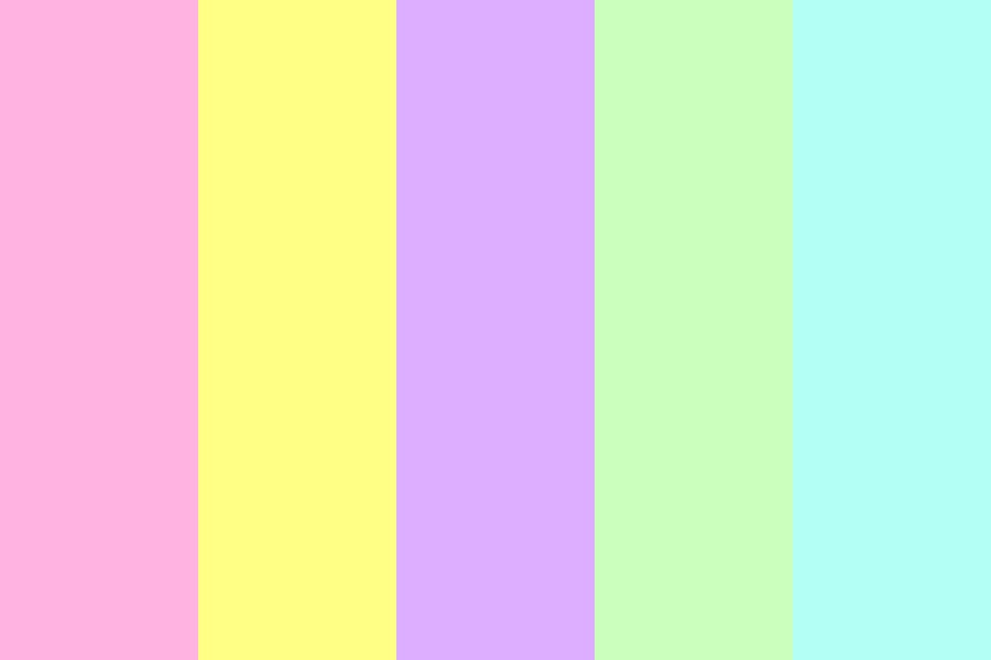 The Beauty Of The Pastel Color Palette