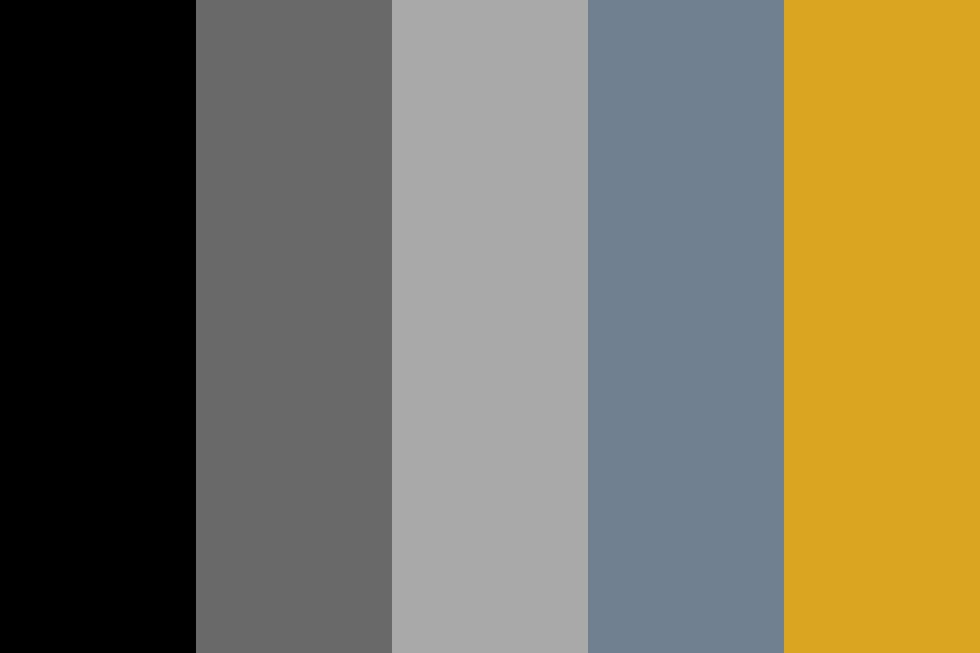 The Black Heretic Color Palette