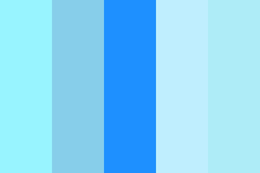 The Blue Palette Color Palette