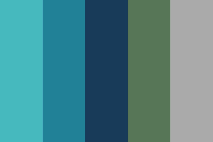 The Blue Sea Color Palette