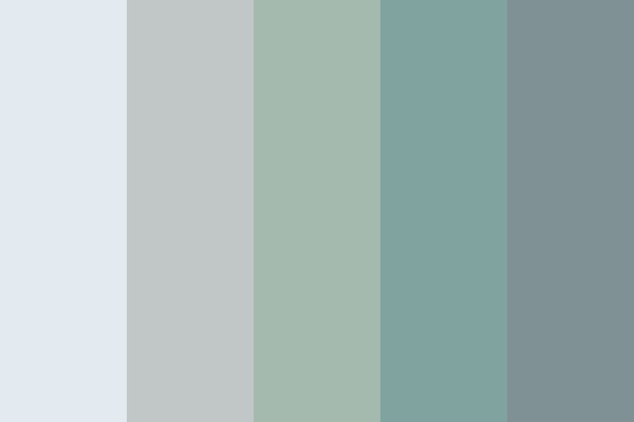 The Blues Color Palette