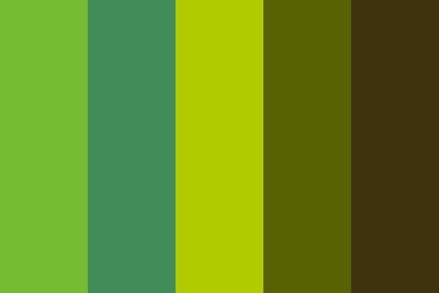 The Brightest Memory Color Palette