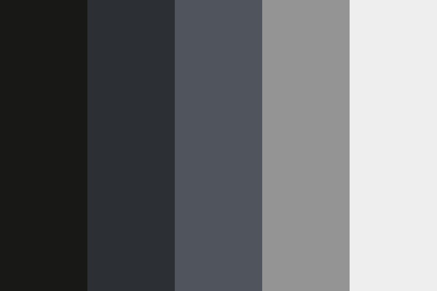 The City Is Burning   Greyscale Comp Color Palette
