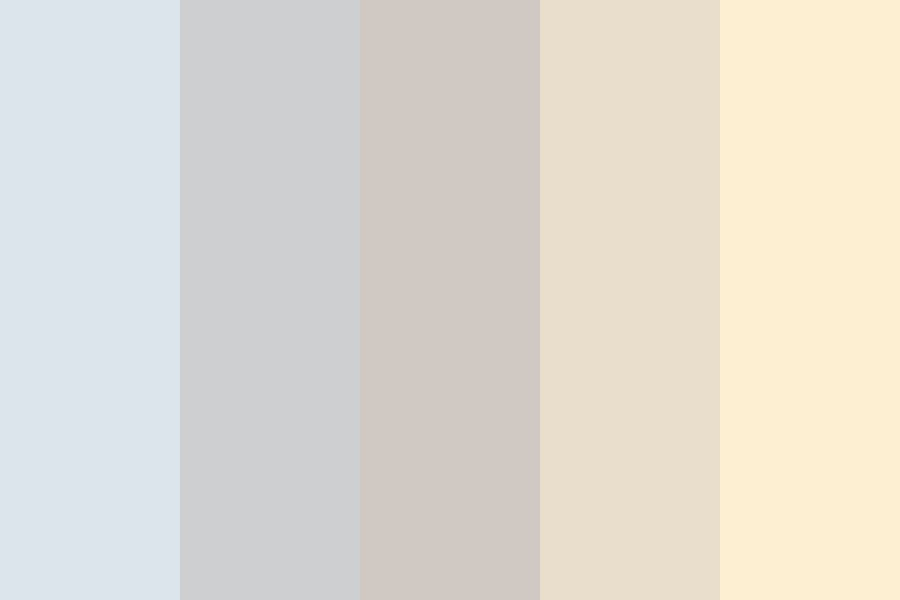 The Cold Sun Color Palette