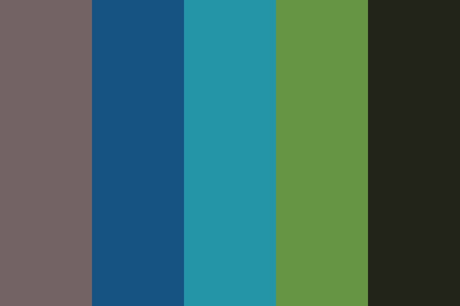 The Cool Side Color Palette