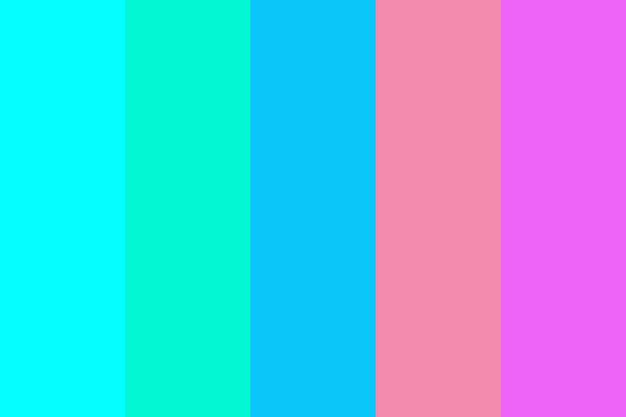 The Coral Reef Color Palette