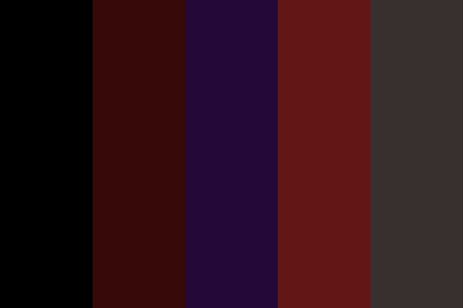 The Darkness Color Palette