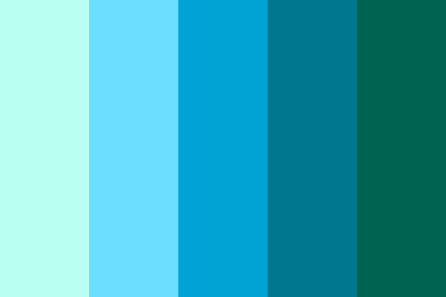 The Depths Of The Ocean Color Palette