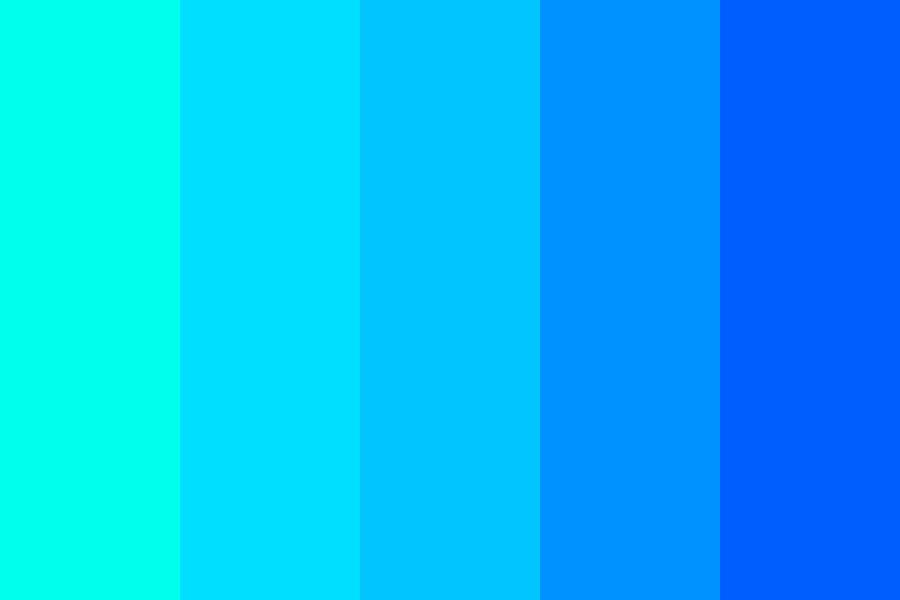 The Eyes Of The Ocean Color Palette