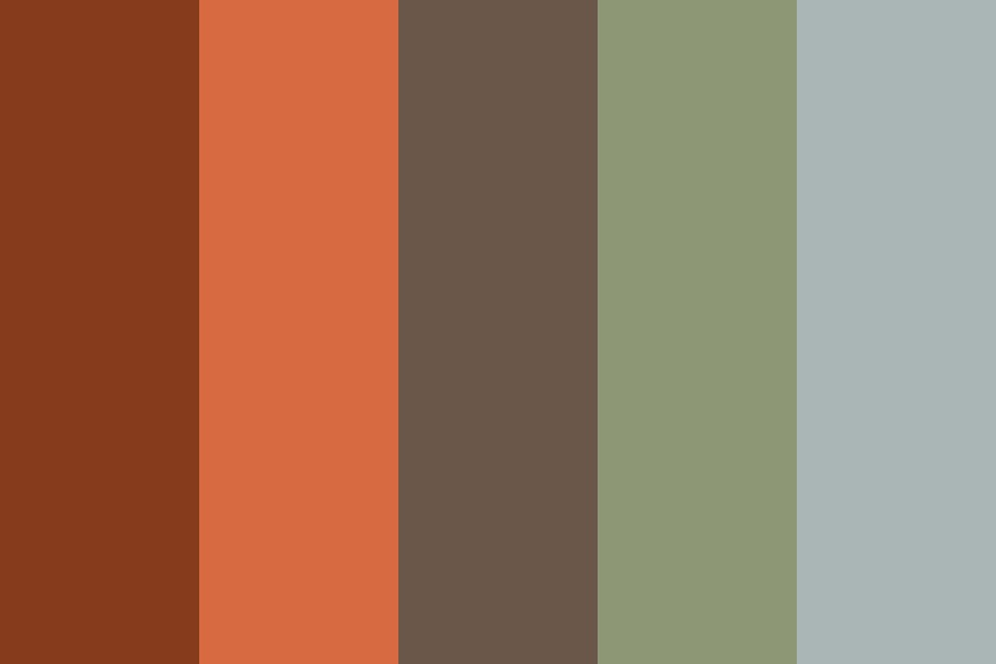 The Forest Speaks In Binary Color Palette