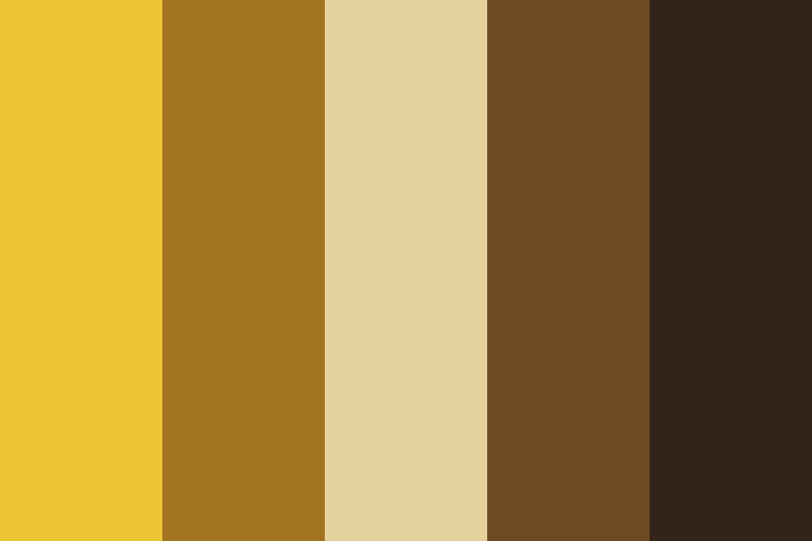 The Gold Ban Color Palette