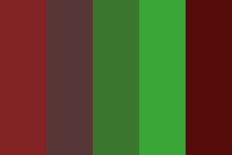 The Great Redwoods Color Palette
