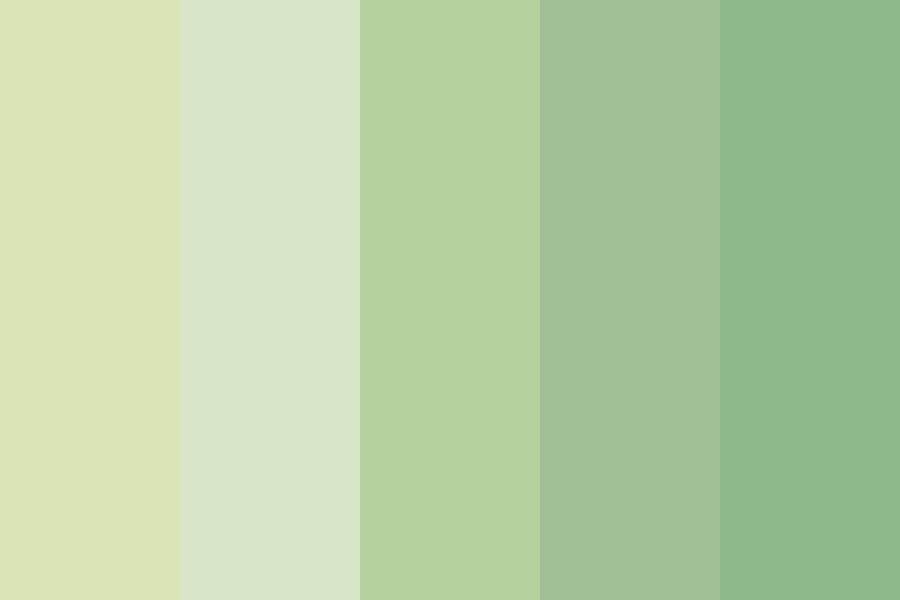 The Green Eyes Color Palette