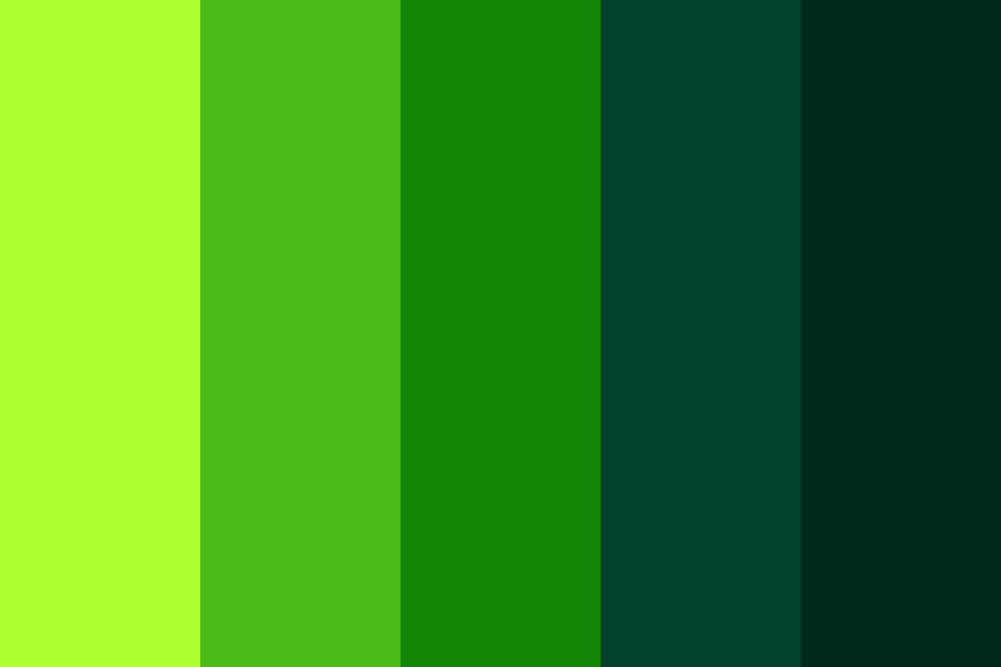 The Green Fairy Color Palette