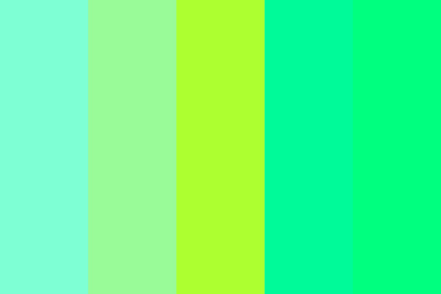 The Green Palette Color Palette