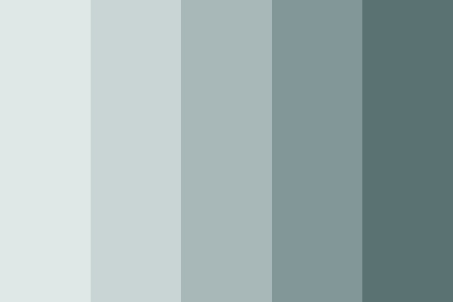 The Greyest Of Blues Color Palette