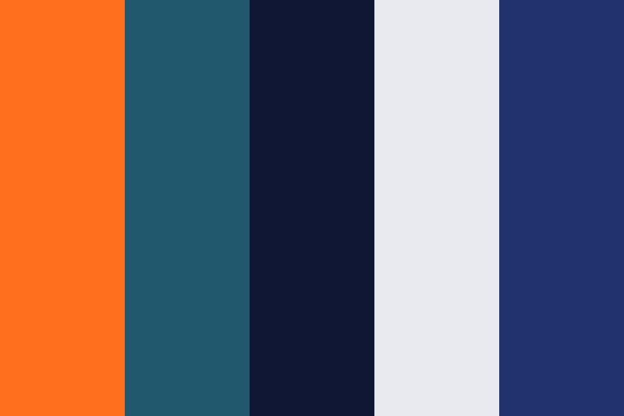 The Happy Blues Color Palette