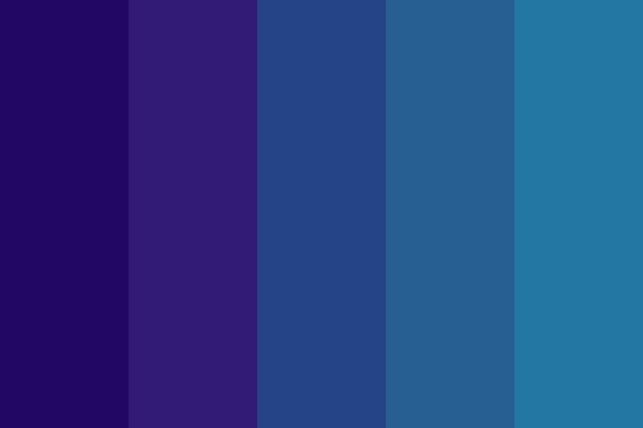 The Indigo Blues Color Palette