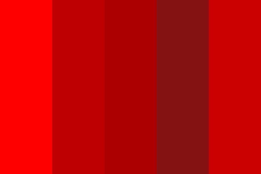 The Infra Red Color Palette