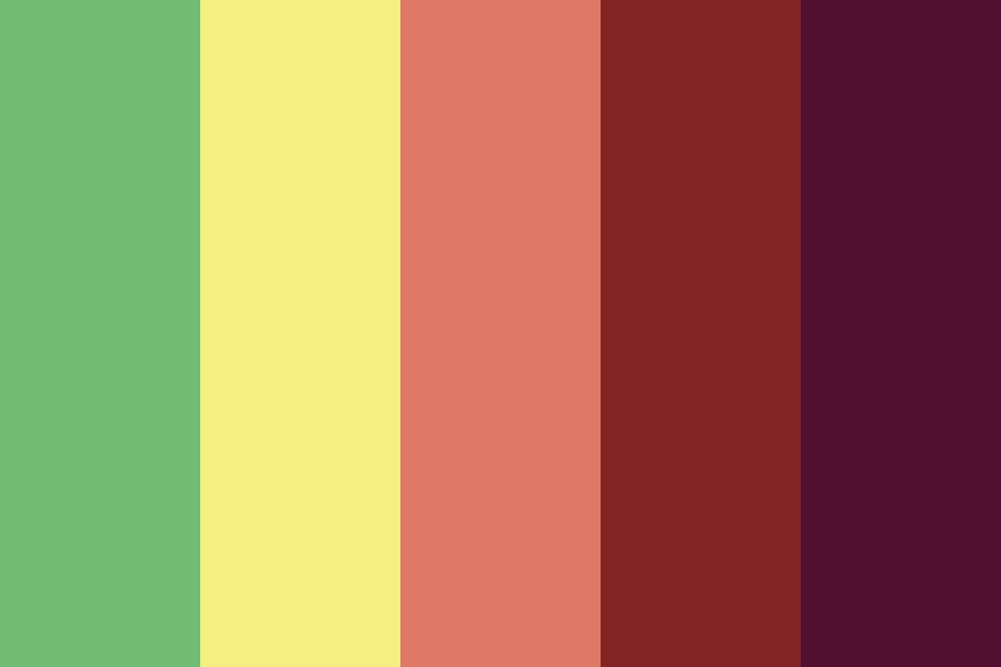 The Language Of The Flowers Color Palette