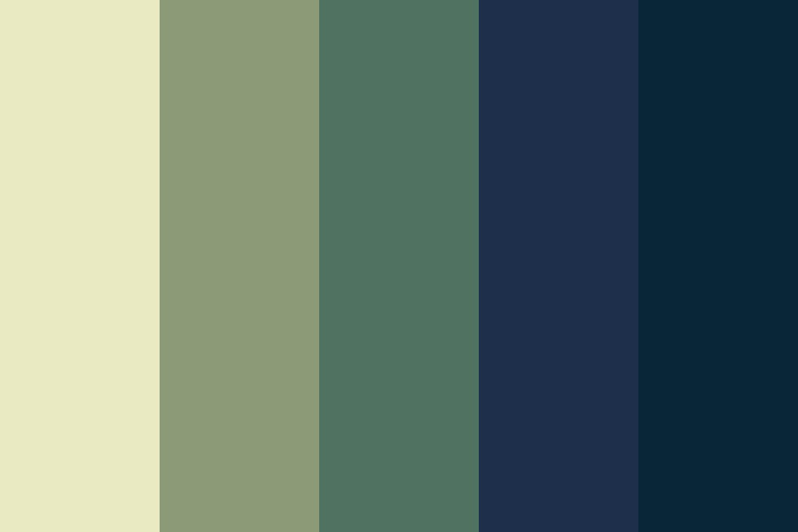 The Long Dark Before Dawn Color Palette
