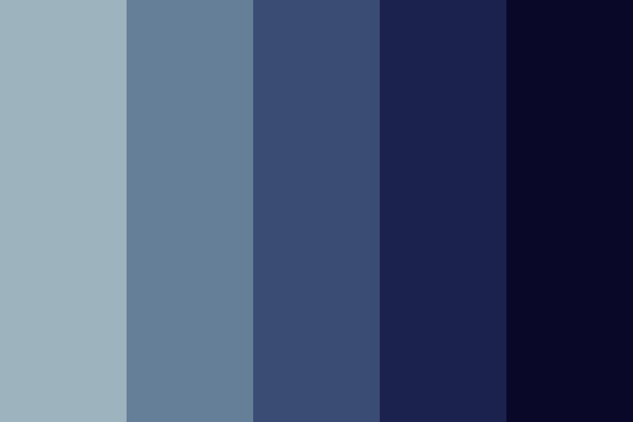 The Moon And Birds Color Palette