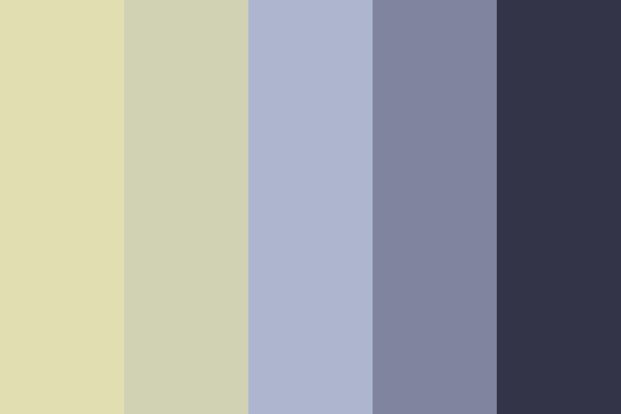 The Moon And The Crow Color Palette