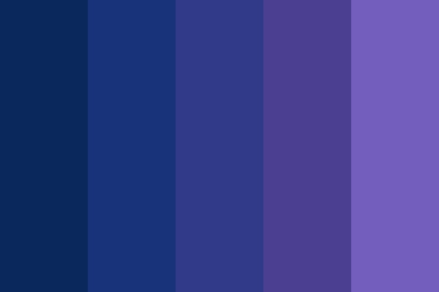 The Night In Which I Think Of You Color Palette