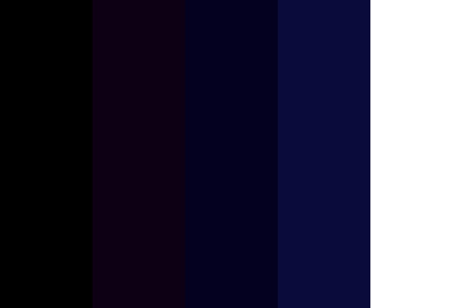 The Night Sky Color Palette